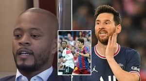 """Patrice Evra Explains Why He Is """"Sick"""" Of Lionel Messi Winning The Ballon d'Or"""