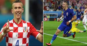 Ivan Perisic Has A Very Patriotic Haircut For The Knockout Stages