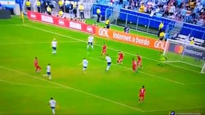 Lionel Messi Produced A Miss Straight Out Of Sunday League Last Night