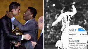 Pele Responds To Claims He Changed His Instagram Bio After Cristiano Ronaldo Surpasses Him