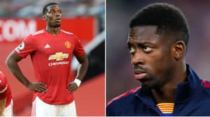 Paul Pogba Calls Ousmane Dembele To Convince Barcelona Star To Sign For Manchester United