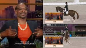 Snoop Dogg's Incredible Commentary On Equestrian Event Is The Best Moment Of The Tokyo Olympics