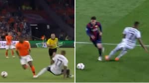 Gini Wijnaldum Sat Jerome Boateng Down Like Lionel Messi Did In 2015
