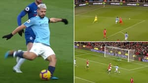 Stunning Compilation Of Sergio Aguero's Greatest Ever Goals Shows He's A Premier League Legend