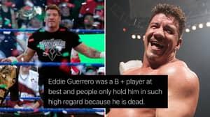 WWE Fans Defend Eddie Guerrero's Legacy After Shocking 'B+ Player' & Death Tweets