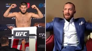 Conor McGregor Questions Whether Khabib Nurmagomedov Made Weight Before Justin Gaethje Fight