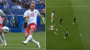 We Could Sit And Watch Christian Eriksen's Stunning Half-Volley Over And Over Again