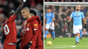 Liverpool Destroy Manchester City To Extend Gap At The Top To Eight Points