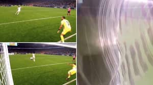 Can We Appreciate Harry Maguire's Rocket Of A Penalty That Destroyed A TV Camera