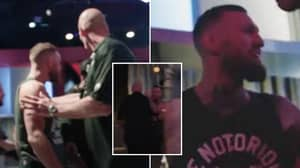 Video Shows Conor McGregor Nearly Having A Backstage Brawl With The 'Back-Up' Fighter For UFC 264