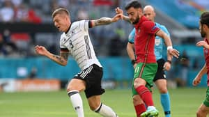 Bruno Fernandes Slammed For 'Strolling' In Portugal's 4-2 Defeat To Germany