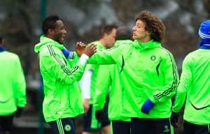 John Obi Mikel Welcomes David Luiz Back To Chelsea With Diego Costa Joke