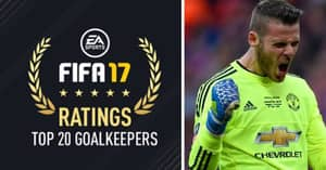 The Top Goalkeepers On FIFA 17 Revealed