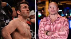 Chael Sonnen Recalls How He Accidentally Got Into A 'Basement Fight' With Georges St-Pierre
