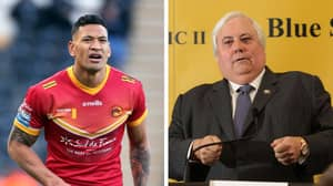 Israel Folau Teams Up With Controversial MP Clive Palmer To Announce Rugby League Comeback