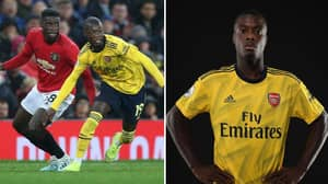 Nicolas Pepe Dropped A Disasterclass Against Manchester United Last Night