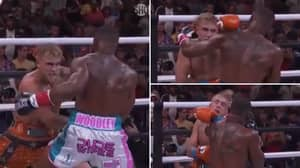 Slow-Mo Footage Of Tyron Woodley's Sickening Left Hook Which Could've Finished Jake Paul