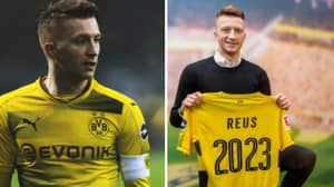 Marco Reus Signs New Contract With Borussia Dortmund Until 2023
