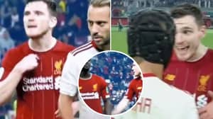 Andy Robertson Exacted Revenge On Rafinha On Behalf Of Sadio Mane