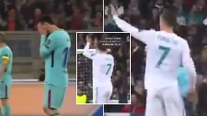 The Huge Difference Between Lionel Messi And Cristiano Ronaldo When Their Teams Are Losing 3-0