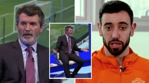 """Roy Keane Calls Bruno Fernandes """"A Baby"""" And Tells Him To """"Get On With It"""" After Recent Interview"""