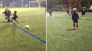 Barcelona's Under 10s In Training Are Scarily Good