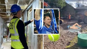 John Terry Showed Fans Around His House Development In Hi-Vis Jacket With Squad Number