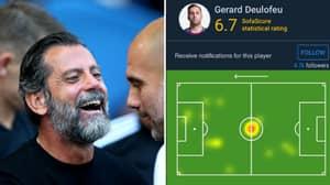 Gerard Deulofeu's Heat Map Vs Manchester City Makes For Hilarious Viewing
