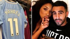 Riyad Mahrez's Wife Responds To Manchester City Transfer Rumours, Then Deletes Tweet