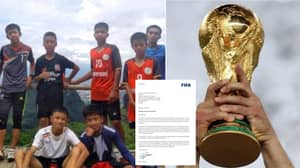 FIFA Invite All 12 Boys And Their Coach Rescued From Cave To The World Cup Final