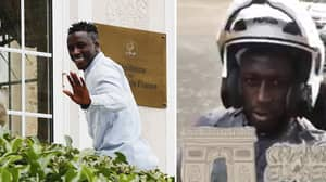 WATCH: Benjamin Mendy Plays Down Manchester City Move With Brilliant Response