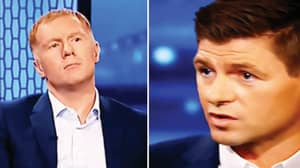 Paul Scholes' Reaction To Steven Gerrard Saying He Never Won The Premier League