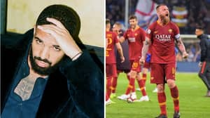 All AS Roma Players Banned From Taking Photos With Drake Until End Of The Season