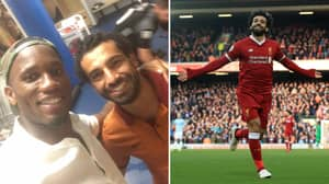 Didier Drogba Sends Brilliant Message To Mo Salah After He Breaks His Record