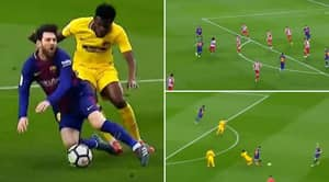 Video Shows Thomas Partey Bullying Lionel Messi And Making Him Look Like An Amateur Footballer