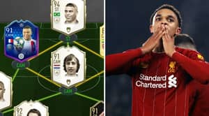 Trent Alexander-Arnold's FIFA 20 Ultimate Team Has Received An Unreal Upgrade