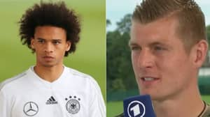 What Toni Kroos Has Said About Leroy Sane's Attitude Is Very Interesting