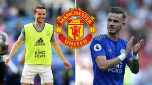 Manchester United Reportedly Considering Swoop For Leicester City Pair James Maddison And Ben Chilwell