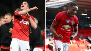 Robin Van Persie Sends Message To Anthony Martial After His Hat-Trick Against Sheffield United