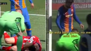Microphones Picked Up Gerard Pique's Brutal Insult To Luis Suarez During Barca Vs. Atletico