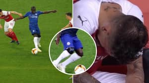 Chelsea's N'Golo Kante Dominates Europa League Final With Knee Brace