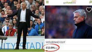 Man Utd Fan Starts GoFundMe To Raise £12 Million For Jose Mourinho Sacking
