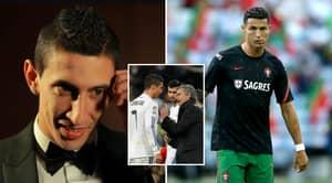 "Angel Di Maria Details The Time ""Insane"" Jose Mourinho Had A Heated Bust-Up With Cristiano Ronaldo"