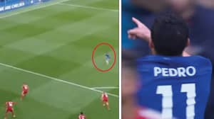 Chelsea Fans Lose Their Sh*t After Pedro Scores Absolute Wordlie