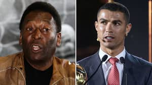 Juventus Superstar Cristiano Ronaldo Has Now Scored More Goals Than Brazil Legend Pele