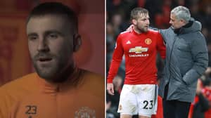 "Luke Shaw Finally Opens Up On ""Very Hard Time"" Under Jose Mourinho At Manchester United"