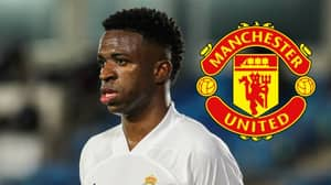 Manchester United Interested In Vinicius Jr But Are His 'Second Best Option'