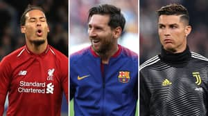 Lionel Messi Set To Beat Virgil Van Dijk For The UEFA Men's Player Of The Year Award