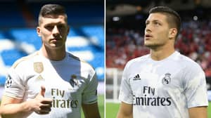 Real Madrid's £62 Million Signing Luka Jovic Could Be Sent Out On Loan