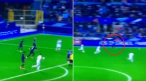 Paul Pogba Officially Does Not Have A Weak Foot, Picked Out Kylian Mbappe With An Absolutely Unreal Pass